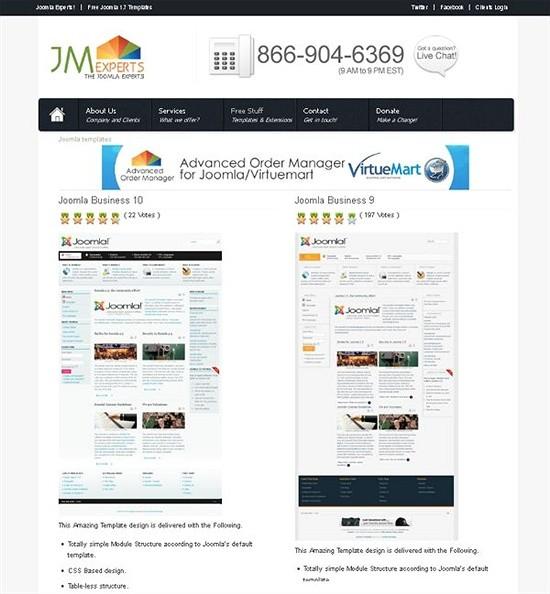 jm experts - download joomls templates