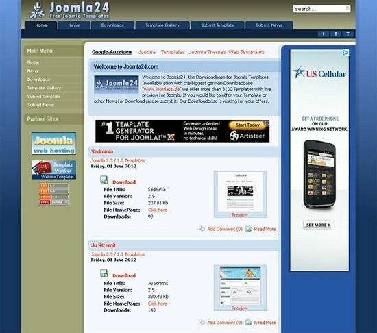 joomla24 - download joomls templates