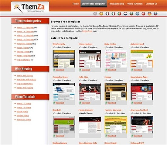Sites to download free joomla templates perfect designing developer themza download joomls templates maxwellsz